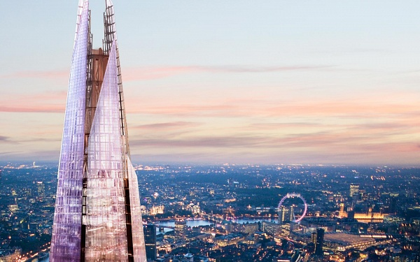 Shangri-La Hotel, The Shard, London