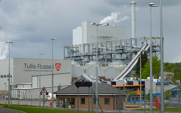 Troubleshooting at Markinch Biomass Power Station for Jacobs Engineering